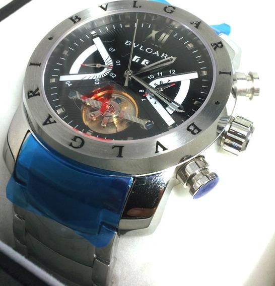 Relógio Bv Iron Man Prata Original