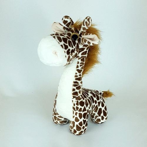Imagem 1 de 4 de Girafa De Pelúcia Zoião - Bichinho Safari
