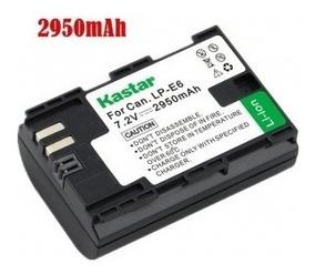 Bateria Kastar Lp-e6 2950mah