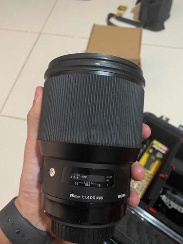 Sigma 85mm Art 1.4 Canon