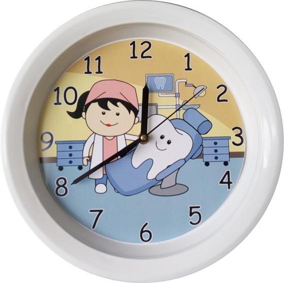 Reloj Decorativo Dentista Y Muelita