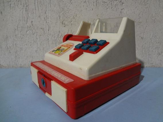 Caixa Registradora Glasslite - Brinquedo Antigo