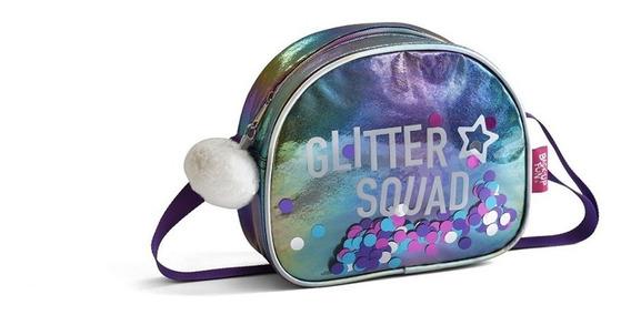 Cartera Lentejuelas 80552 Glitter Squad Cuerina Velvetweb