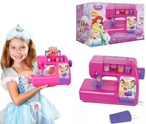 Máquina Costura Infantil Brinquedo Princesas Disney Br026