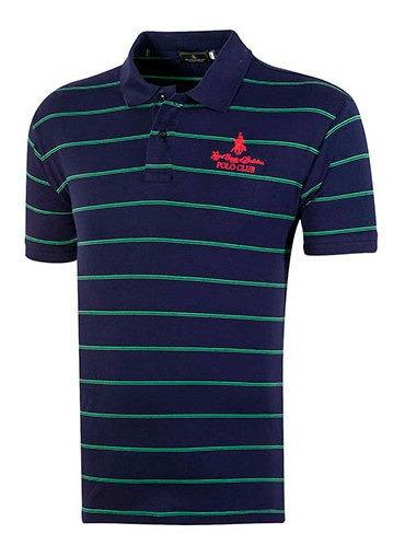 Playera Hombre Pk 92286 Polo Club Marino