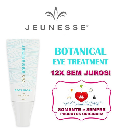 Botanical Eye Treatment - Original - Com Nota Fiscal