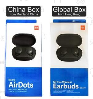 Fone Ouvido Xiaomi Redmi Airdots Bluetooth 5.0 S/ Fio Global