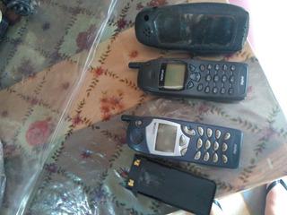 2 Celulares Nokia Antigos Historia , Não Servem Rede Movel