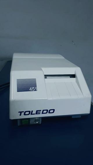 Impressora Para Balanças Toledo Modelo 451