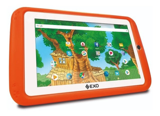 "Tablet EXO Wave I007 Kids 7"" 16GB naranja con memoria RAM 1GB"
