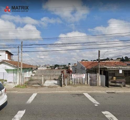 Terreno À Venda, 500 M² Por R$ 550.000,00 - Tingui - Curitiba/pr - Te0695