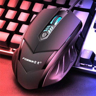 GAMING MOUSE ACE 32000DPI LED OPTICAL 6D USB WIRED PRO GAMER