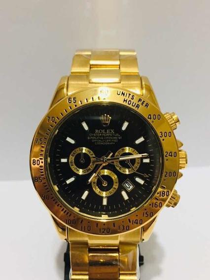 Relógio Daytona Gold Black