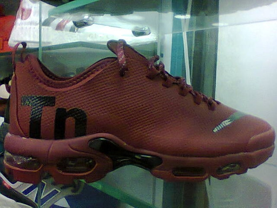 Tenis Nike Air Max Tn Vinho E Preto Nº38 Original Na Caixa