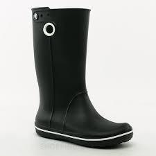 Bota De Goma Crocs Caña Alta Negro - Cr10970
