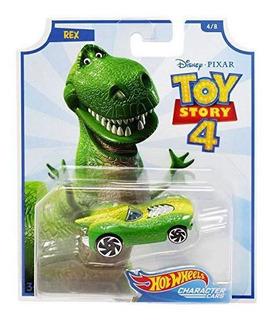 Toy Story 4 / Hot Wheels Rex O Alien Origina Mattel / Metal