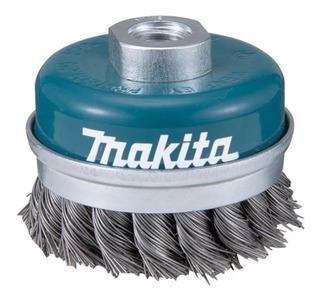 Escova Aço Copo Torcido Esmerilhadeira 60mm 4 1/2 E 5 Makita