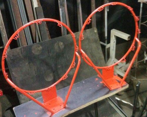 Aro De Basket Macizo Reforzado