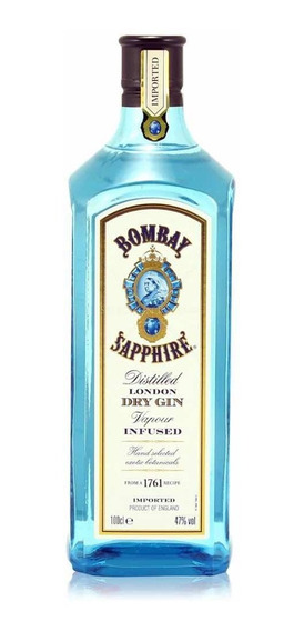 Gin Bombay Blue Sapphire The 1 Ltr