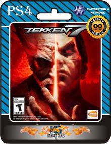 Tekken 7 -ps4- (primaria / Digital) *