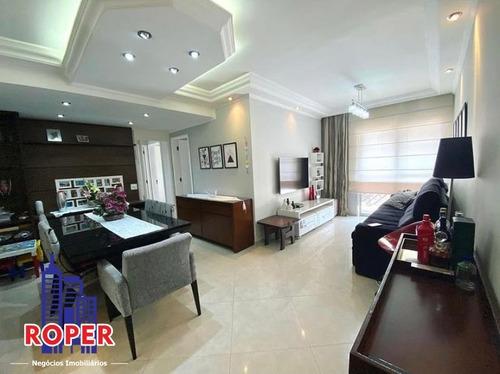 Imagem 1 de 13 de Lindo Apartamento De 88 M²/3 Dormitórios/2 Vagas À Venda No Tatuapé, São Paulo - Ap01149 - 69512645