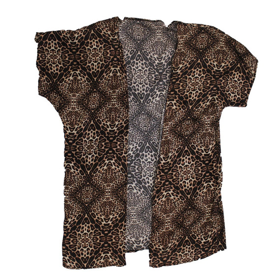 Camisa De Mujer Tipo Kimono (0070)