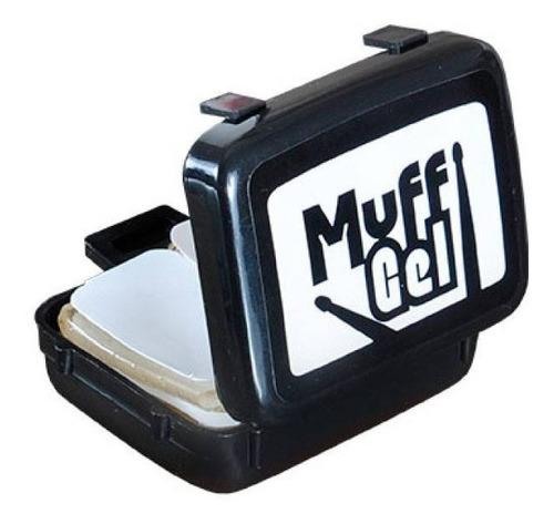 Imagem 1 de 3 de Muff Muf Meffer Luen Bateria Abafador Gel Com 6 Abafadores