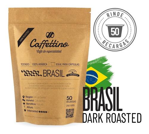 Imagen 1 de 9 de 50 Cafés Intensos - Para Cápsula Caffettino Nespresso