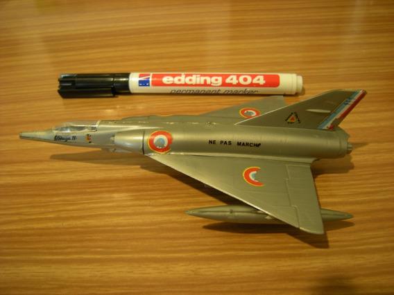Avion Mirage Iv (4) - Escala 1/125 - Armado - Coleccion