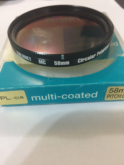 Filtro Calumet Mc 58mm Circular Polarizer Japan