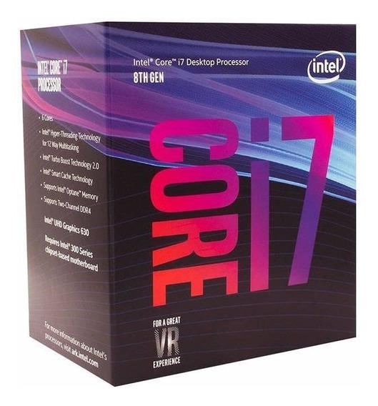 Processador Intel Core I7-8700 3.2ghz 12mb Lga 1151
