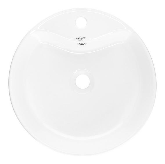 Lavabo Moderno Lavamanos Ovalin Ceramica Blanca Lujo