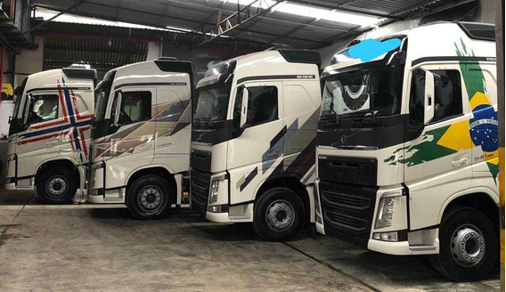 Volvo Fh 540 6x4 Ano 2018/18