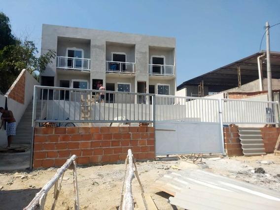 Valverde/n.iguaçu. Casas C/70m², 2 Quartos, Sala, Cozinha, Banheiro E Garagem. - Ca00645 - 34422916