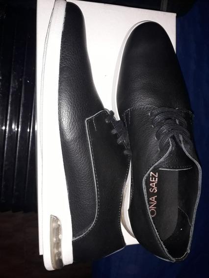 Zapatos Negros Ona Sáez Sport