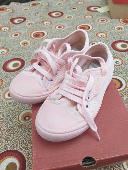 Zapatillas Nena Mimo Talle 28 Color Rosa