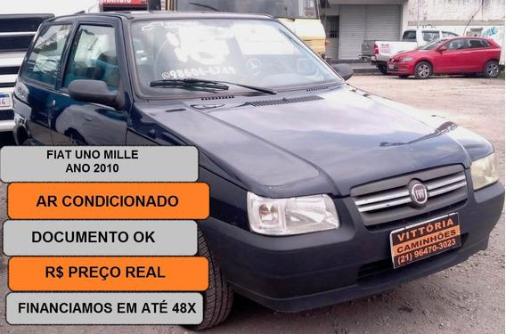 Carro Fiat Uno 1.0 Mille Economy Flex 3p