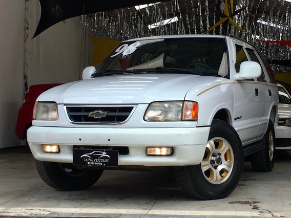 Gm - Blazer 4.3 V6 Manual Executive Completa 1998 Branca
