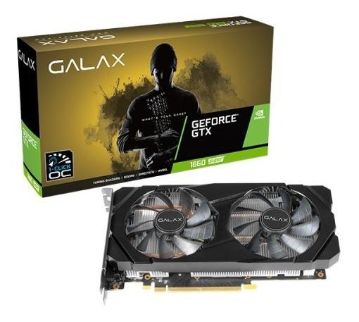 Placa De Vídeo Galax Geforce Gtx 1660 Super 6gb Gddr6 192bit