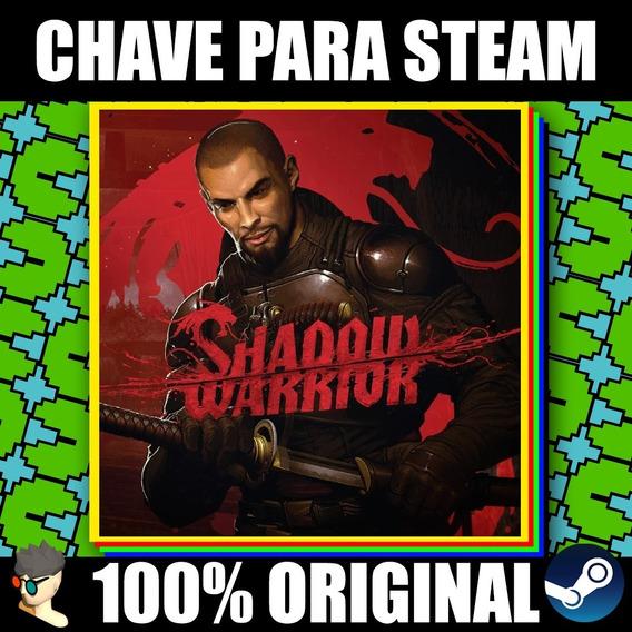 Chave De Ativação Steam: Shadow Warrior Special Edition
