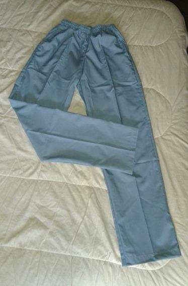 Pantalon Sanitario - Laboratorio-médico-enfermeria - Celeste