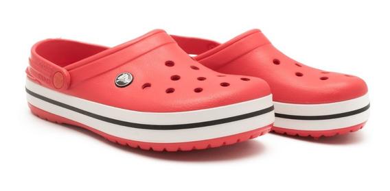 Crocband Unisex Rojo Crocs Originales