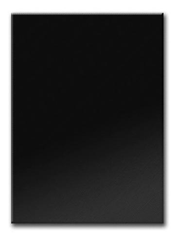 250 Tapas A4 Pvc Color Negro P/ Encuadernacion/anillado