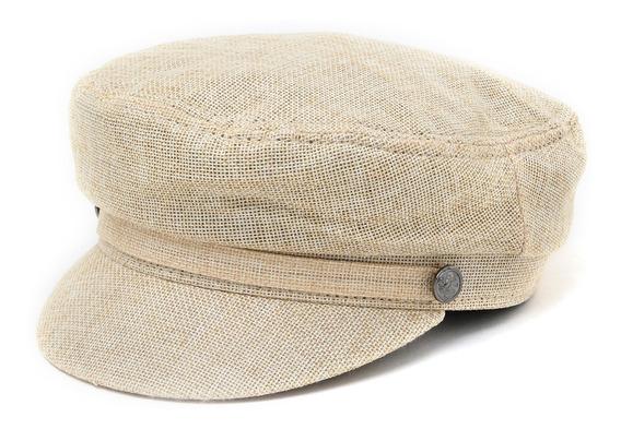 Boina Sombrero Mujer Capitán 100% Lino