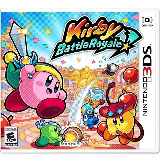 Kirby: Battle Royale 3ds Nintendo - Mídia Física Lacrado