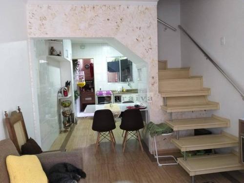 Imagem 1 de 30 de Sobrado Com 2 Dormitórios À Venda, 75 M² Por R$ 300.000,00 - Paulicéia - São Bernardo Do Campo/sp - So0441