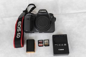 Canon Eos 6d Full Frame - Excelente