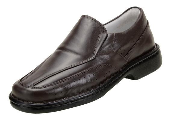 Sapato Social Masculino Asa Relax Conforto Linha Branca 1751