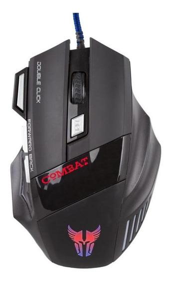 Mouse Usb Argom Ms42 Gaming Combat 3200 Dpi Arg-ms-2042bk