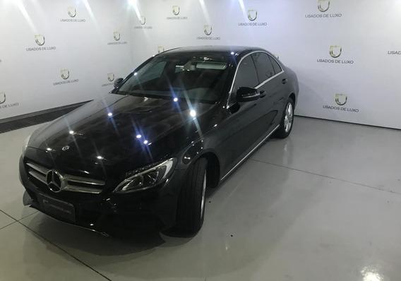 Mercedes Benz C180 Avantgard 2018 Preta